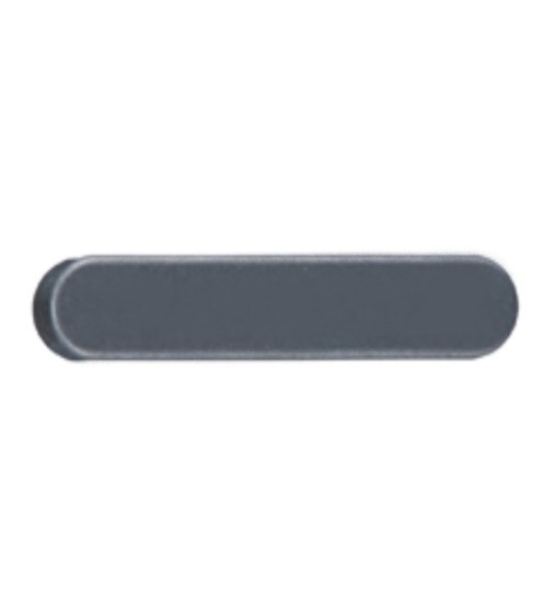 10 Stück Passfedern DIN 6885 A5 - 1.4571 Form A 5X5X12