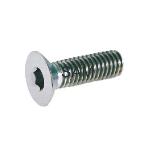 1 Stück Senkkopfschraube DIN 7991 Titan Gr.2 M2,5X4