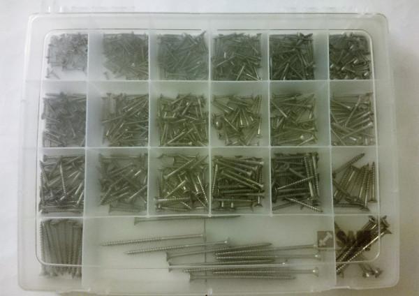 Spanplattenschrauben Sortiment Senkkopf 690tlg 3,0-5,0 TORX