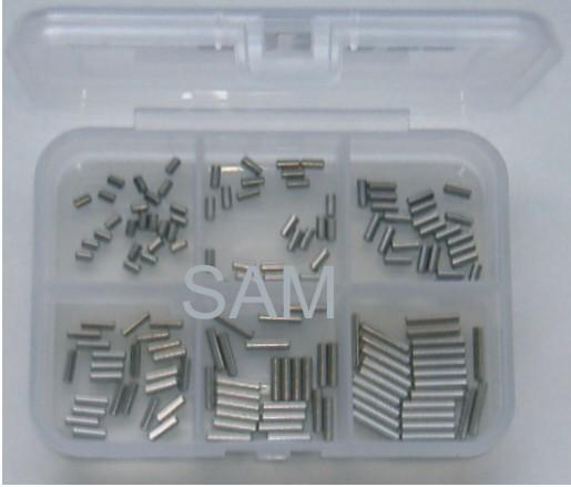 1mm Zylinderstifte Set 150 Teile DIN 7 A1