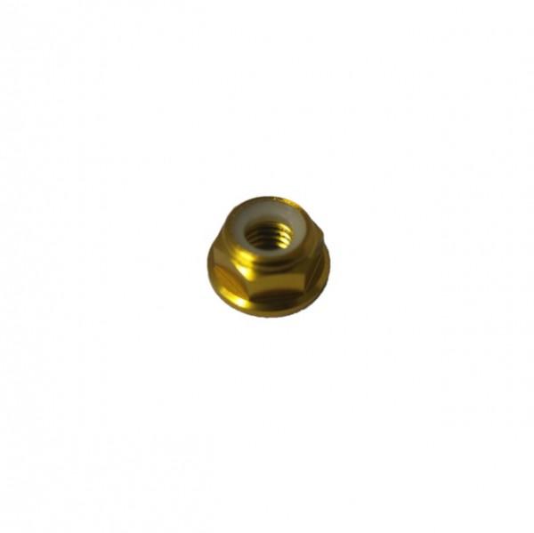 5 Stück DIN 6926 Aluminium 6061 eloxiert M3 GOLD