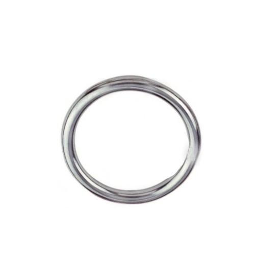 1 Stück Ring geschweißt, poliert EDELSTAHL A4 Ø3X30