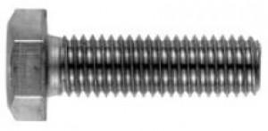 2 Stück Sechskantschrauben DIN 933 A4 hochfest Bumax88® M8X12