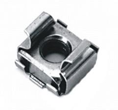 10 Stück Käfigmuttern A2 M8 Loch 12,3mm (3,3-4,7mm)