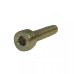 1 Stück Zylinderkopfschraube DIN 912 Titan Gr.2 M1,6X12