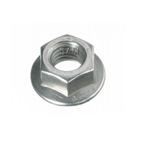 10 Stück Sechskantmuttern mit Flansch DIN 6923 A4 M8